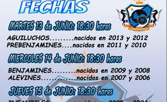 Jornadas de captación del CD Guadix Atlético