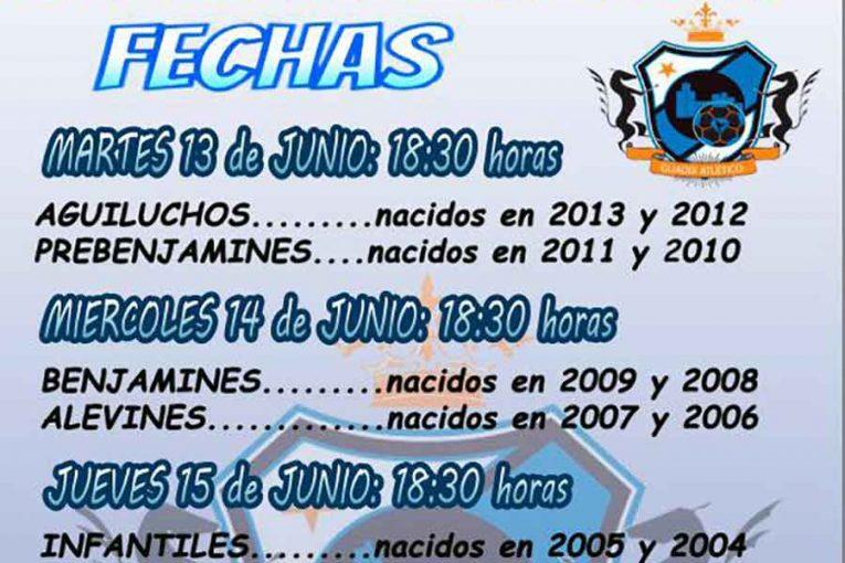 Jornadas de captación Guadix atletico