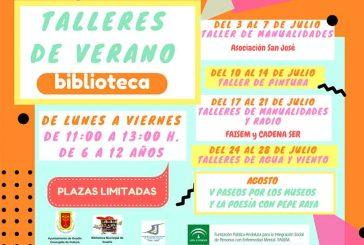 Talleres de verano en la Biblioteca de Guadix