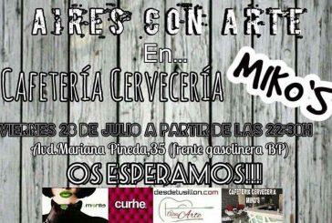 Aires con arte esta noche en Miko's