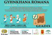Gymkana romana Guadix 2017