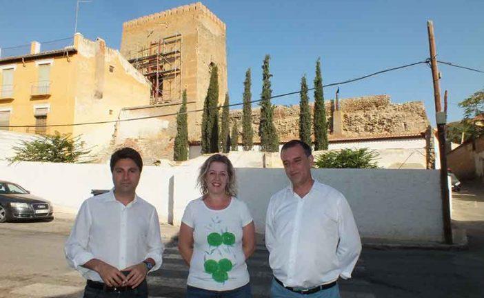 El Ayuntamiento presenta ante el Ministerio de Fomento un proyecto solicitando el 1'5% Cultural para la Alcazaba