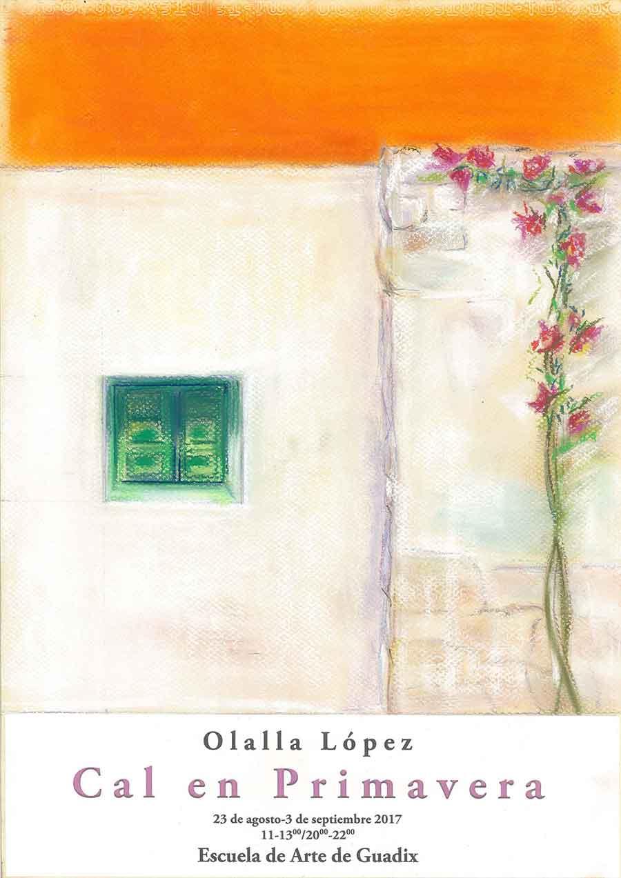 Cal en primavera exposición de Olalla López