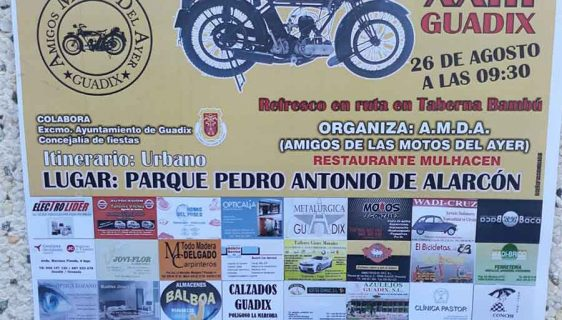 Concentración motos de época Guadix