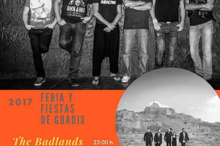 Concierto del grupo Apache en Guadix