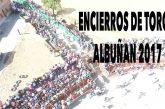 Fiestas en Albuñan con espectacular encierro taurino a vista de pájaro