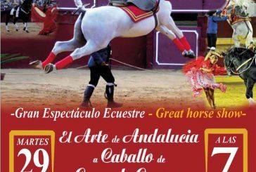 Espectáculo ecuestre y encierro infantil en la Feria de Guadix