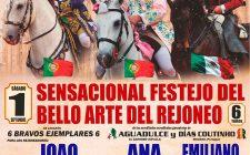 Sensacional festejo del bello arte del rejoneo en la Feria de Guadix 2018