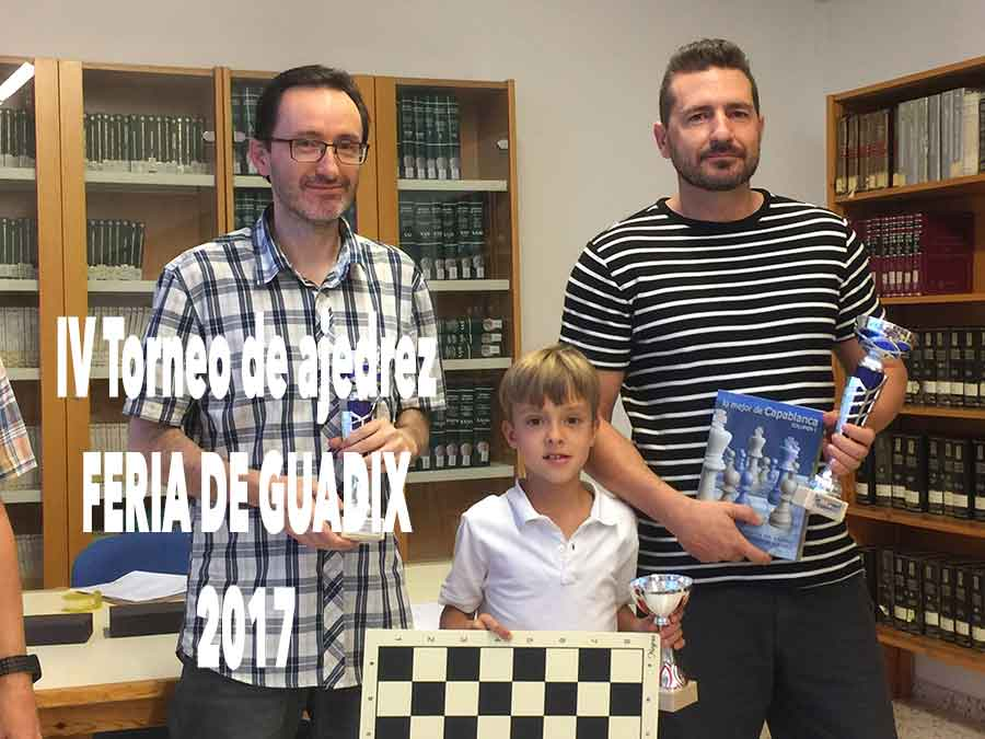 Torneo de ajedrez Feria de Guadix 2017