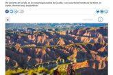 Desierto de Gorafe uno de los 20 paisajes de nuestro planeta para soñar