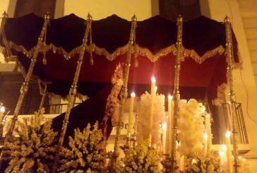 Salida extraordinario de la Virgen del Refugio de Guadix