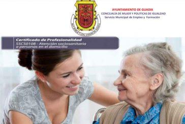 Curso sobre personas dependientes centrado en interrelación, comunicación y observación, abierto el plazo