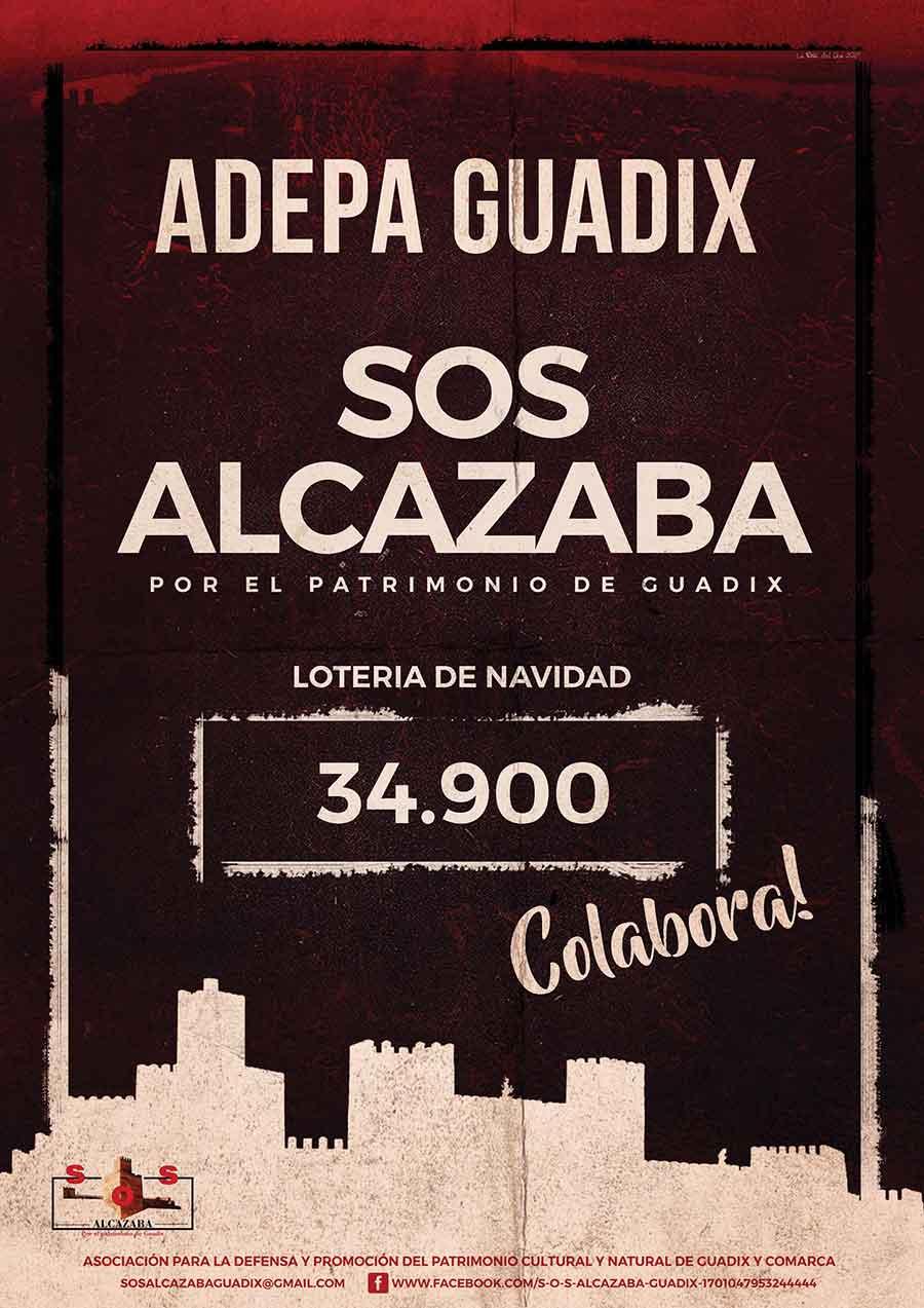 Lotería de Navidad ADEPA Guadix