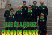 El Club de ajedrez Ciudad de Guadix inicia su andadura en el torneo provincial por equipos