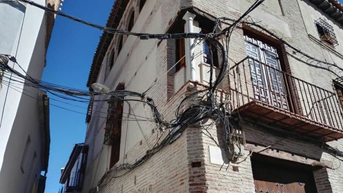 Cableado barrio latino