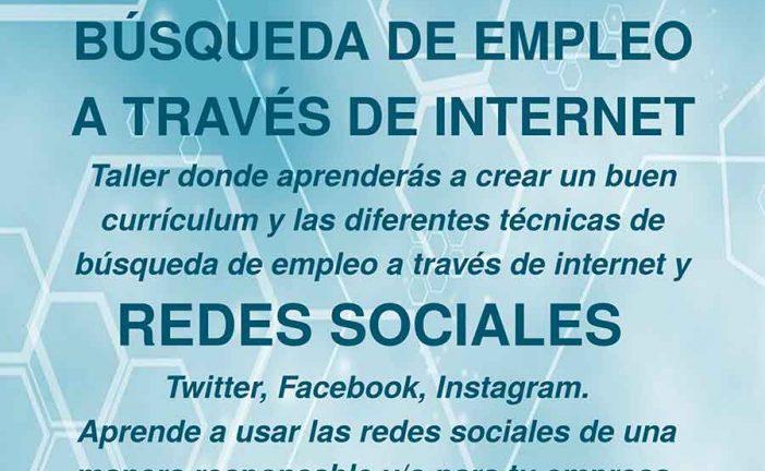Guadalinfo ofrece cursos de mecanografía e informática para niños y de búsqueda de empleo a través de Internet y redes sociales para adultos