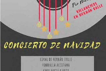 Concierto de Navidad en Hernán Valle