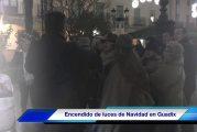 Guadix da comienzo a la Navidad 2017 con el encendido del alumbrado navideño