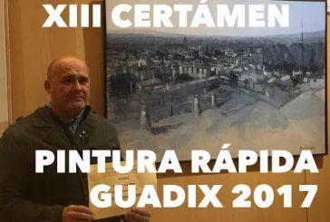 Ganadores del XIII Certamen Nacional de Pintura Rápida Ciudad de Guadix 2017 [Vídeo]