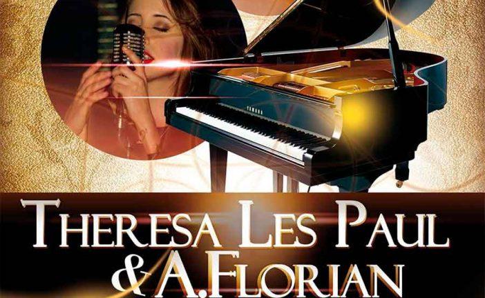 Concierto de Theresa Les Paul & A.Florian, hoy en Nabat