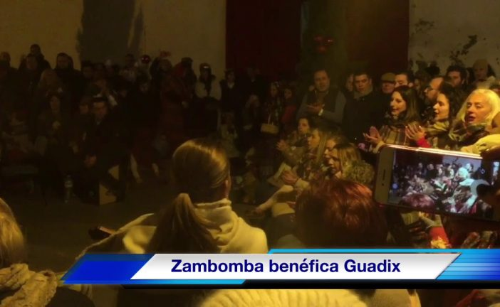 Zambomba accitana a beneficio de la Asociación de Alzheimer de Guadix