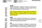 La Alcazaba de Guadix recibe el 1,5% cultural del Ministerio de Fomento