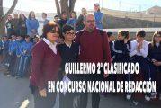 """Guillermo del Colegio de la Presentación de Guadix se proclama subcampeón del concurso nacional de redacción """"REDacción"""""""