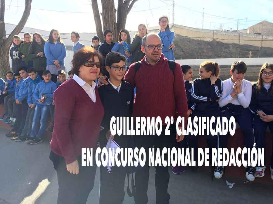 Guillermo segundo clasificado
