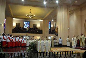 Cientos de accitanos y almerienses arroparon a Mons. Ginés García en su llegada a Getafe