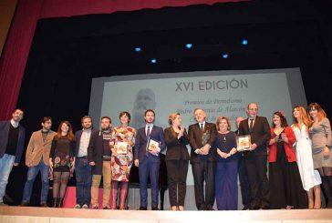 """""""Pedro Antonio de Alarcón aporta al periodismo el compromiso y la capacidad narrativa"""", afirmó Pedro Piqueras en Guadix"""