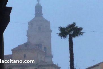 Nieva en Guadix la madrugada y la tarde del 2 de febrero