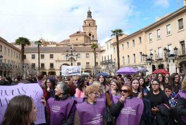 Gran seguimiento en Guadix de la huelga feminista