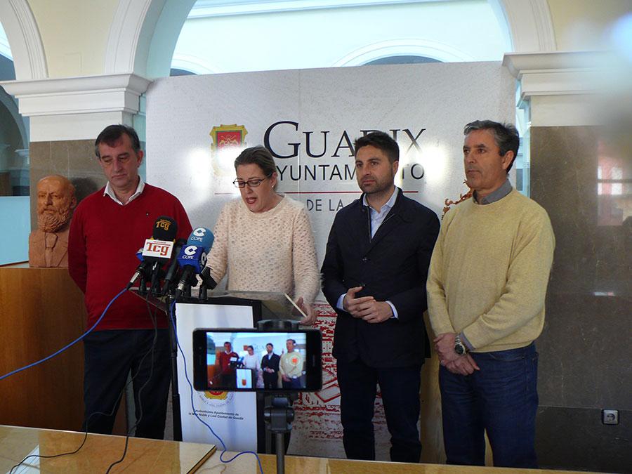 Concejales ayuntamiento de Guadix