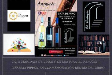 Cata de vino y literatura en El Refugio