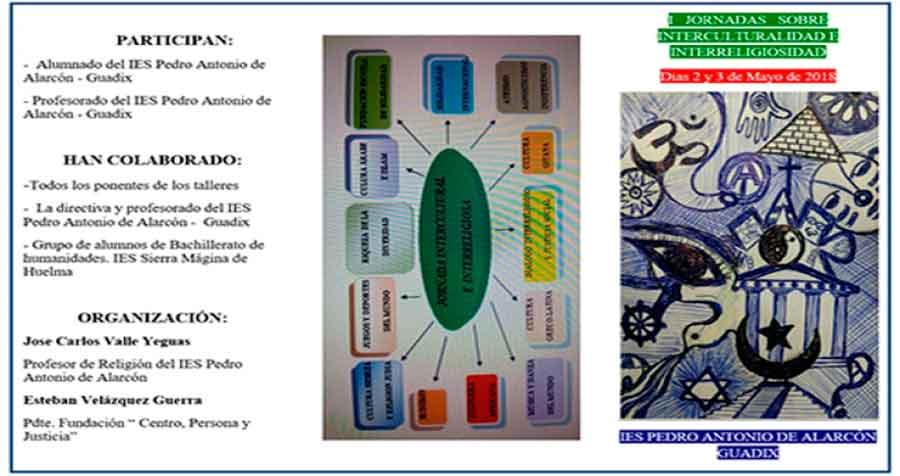 El IES Pedro Antonio de Alarcón, de Guadix, prepara las I Jornadas sobre Interculturalidad e Interreligiosidad