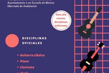 La Escuela Municipal de Música oferta nuevas enseñanzas de instrumentos, talleres de danza y talleres musicales para todas las edades