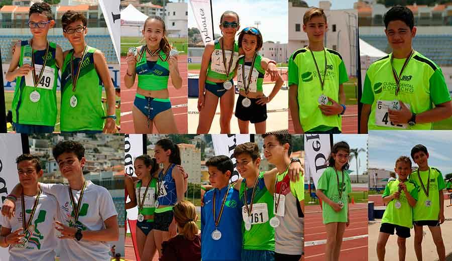 Marcha atletica campeonato provincial