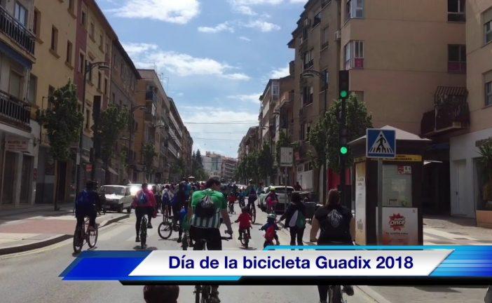 Día de la bicicleta Guadix con cientos de ciclistas de todas las edades
