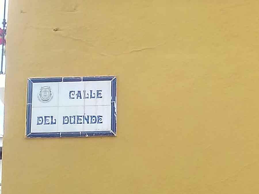 Calle del duende