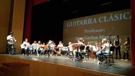 Clausura escuela municipal de música