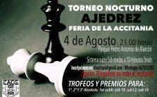 Torneo nocturno de ajedrez Guadix