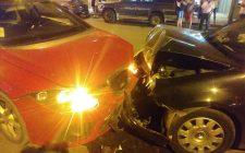 Accidente frontal en la Avenida Mariana Pineda