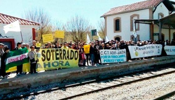 Amigos del Ferrocarril Comarca de Baza reclama al Gobierno 1,6 millones