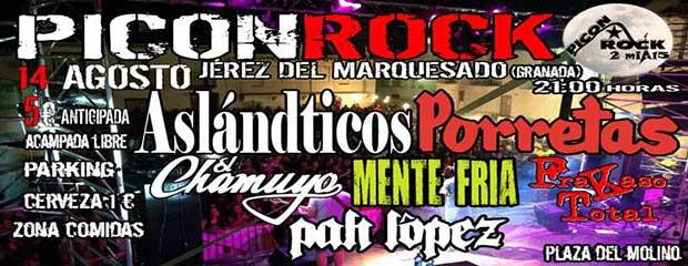 Picon rock 2015 en Jérez del Marquesado