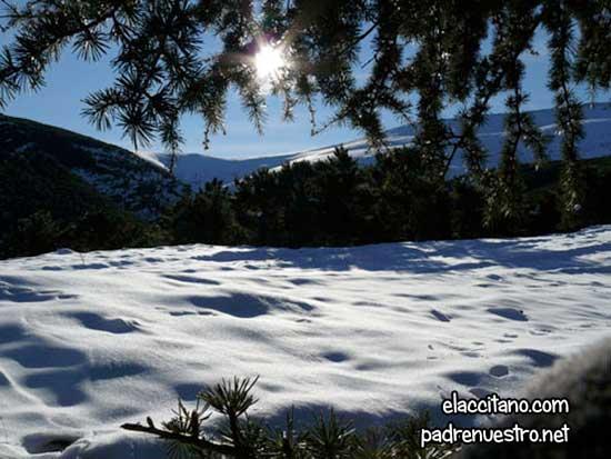Nevada comarca de Guadix