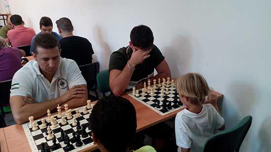 Torneo ajedrez feria de GUadix