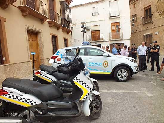 Vehículo Policía local