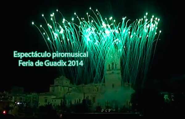 Piromusical Guadix
