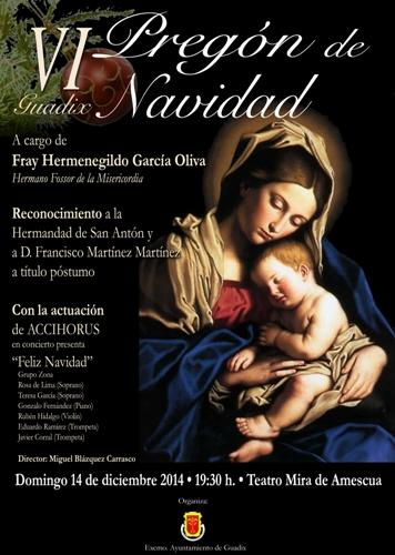 Cartel Pregón Navidad