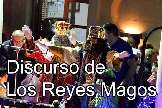 Discurso Reyes Magos